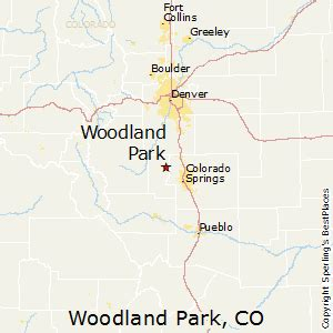 woodland park colorado map best places to live in woodland park colorado