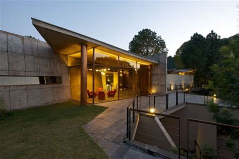modern split level homes a modern concrete house in the himalayas