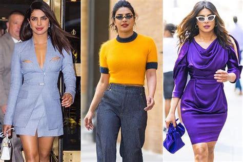 priyanka chopra new york fashion priyanka chopra walks the fashion streets of new york in style