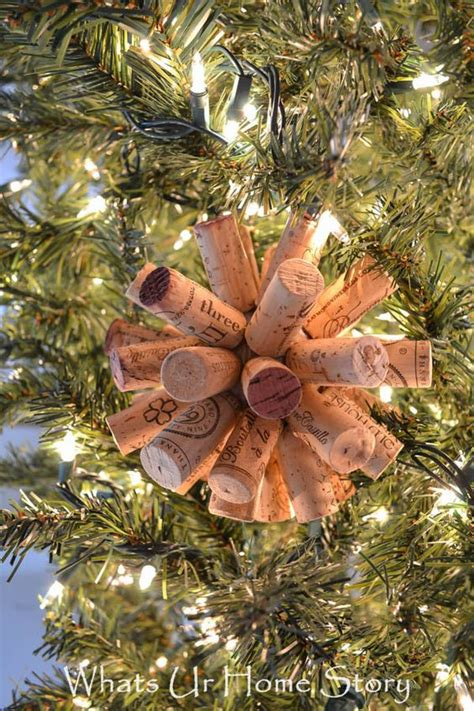 christmas story tree ornaments cork crafts uncorked