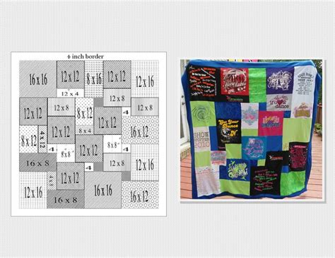 T Shirt Quilt Pattern by T Shirt Quilt Pattern Printable Studio Design