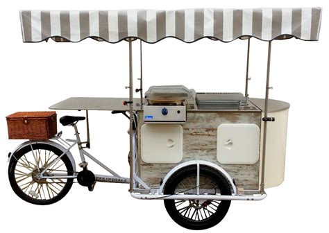 Street Food Carts on Bike Tricycles Catalog, Trailer Kiosks