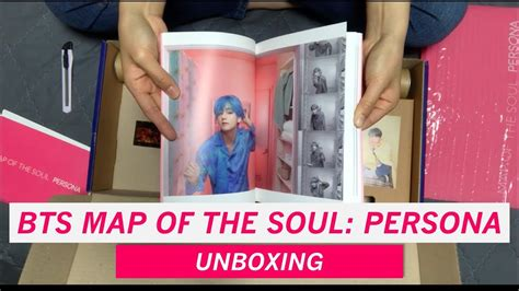 version  bts map   soul persona unboxing