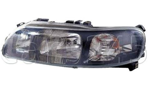 volvo      black manual headlight front lamp left lh ebay