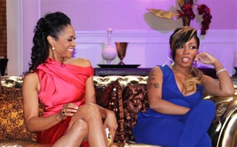 love and hip hop atlanta kmichelle argues with kirk love hip hop atlanta mimi faust says k michelle hit