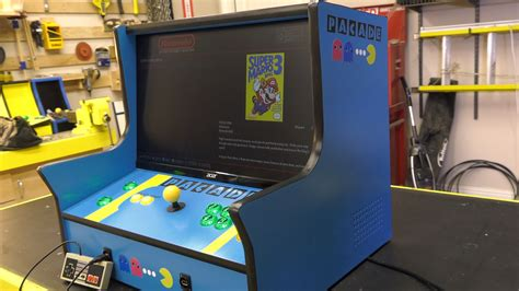 mini arcade cabinet plans the arcade builders guild