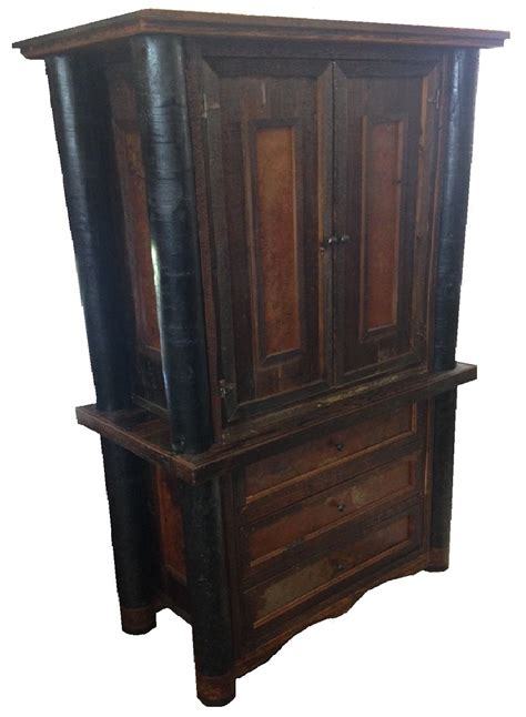 Rustic Tv Armoire by Bradley S Furniture Etc Rustic Armoires