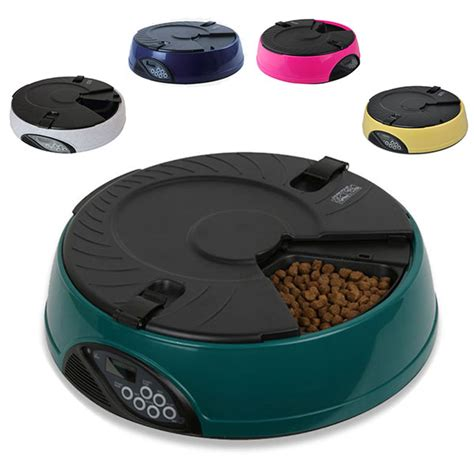 Finepet Pet Feeder Cat And pisces 6 meal auto pet feeders