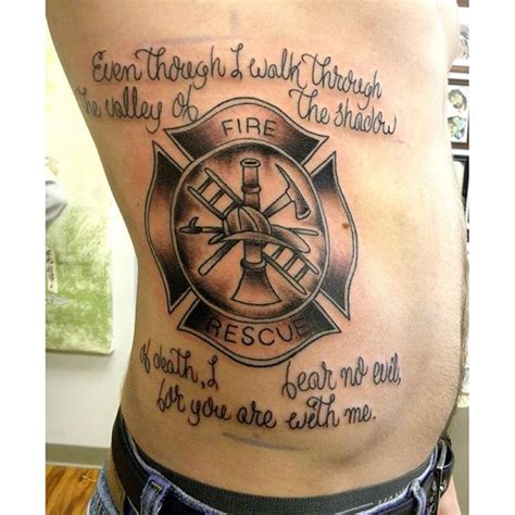 bible verse couple tattoos firefighter bible verse