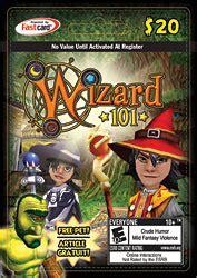 Wizard101 Gift Cards - item walmart 20 canada gift card wizard101 wiki