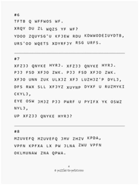 printable cryptogram quotes cryptogram quotes