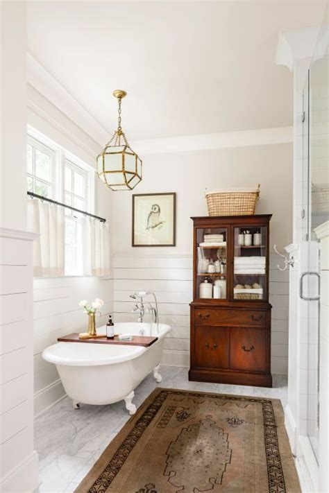 country living bathroom ideas 15 farmhouse style bathrooms of rustic charm it in the mountains