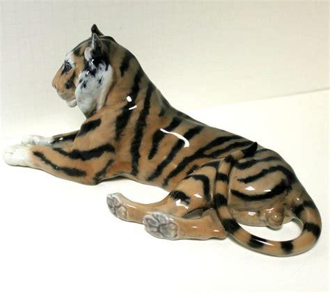 tiger denmark royal copenhagen tiger figurine denmark 714 1969 vintage