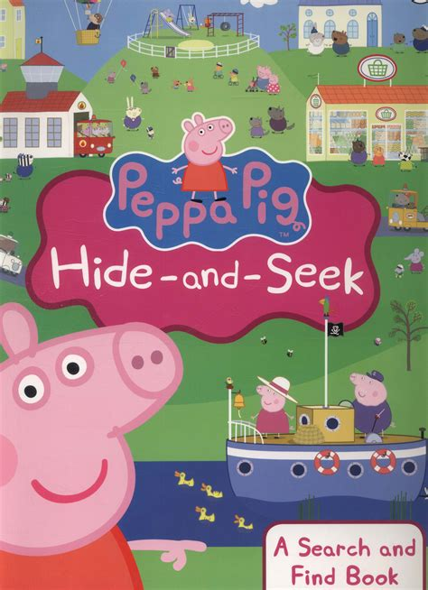 peppa pig hide and seek a search and find book by astley neville 9780723293125 brownsbfs