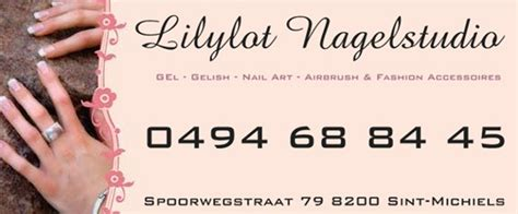 Visitekaartjes Nagelstyliste by Nagelstudio S West Vlaanderen