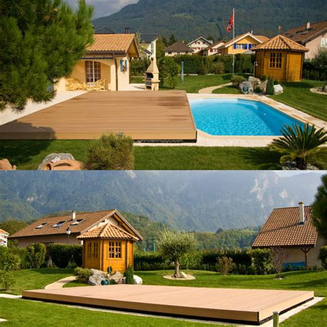copertura a terrazza scopri coverwood la copertura mobile a terrazza per piscine