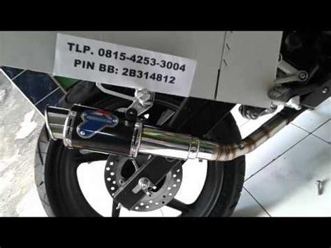 Kenalpot Racing Honda Cbr 150 R Akrapovic Rainbow Slip On High Peforma honda cbr150 k45 cld exhaust dbkiller