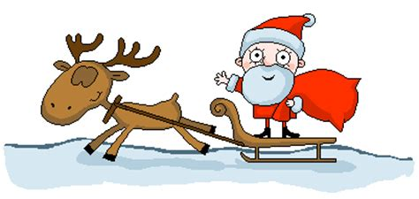 christmas santas animated images gifs pictures animations