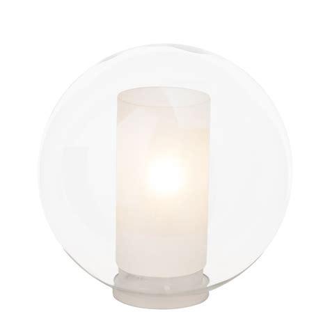 wandleuchte glas wandleuchte shadow glas transparent 1 flammig brilliant