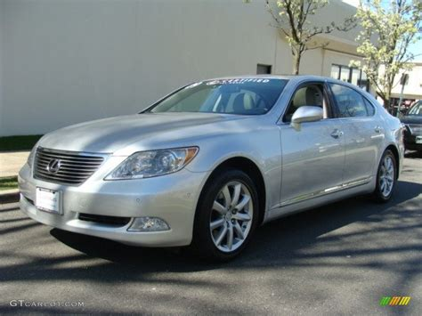 2009 Mercury Silver Metallic Lexus Ls 460 L Awd 63383990