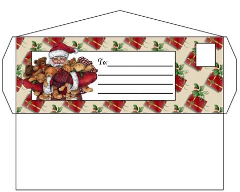 printable envelope from santa printable envelope from santa search results calendar 2015
