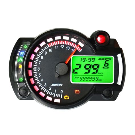 Rotating Water Powered Multifunction Clock by Universal Multi Functional Motorcycle Rotating Speed
