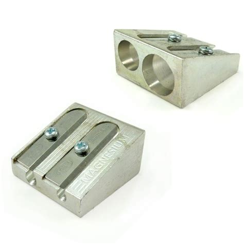 Pencil Sharpener 2 x metal pencil sharpeners by omg ebay