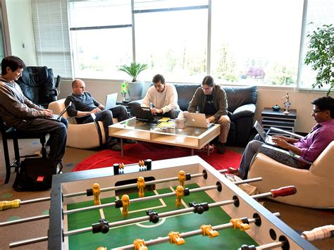 google office playroom google has found that its most successful teams have 5