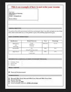 catchy resume format for mba finance fresher resumes design