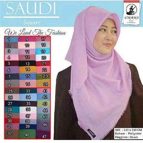 Krudung Segi4 Saudia segi empat saudi umama sentral grosir jilbab kerudung i supplier jilbab i retail grosir
