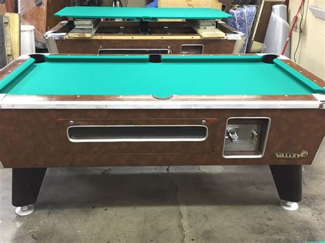 table 100816 used coin operated bar pool tables