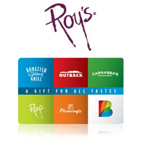 Roy S Gift Card - buy roy s hawaiian fusion gift cards at giftcertificates com