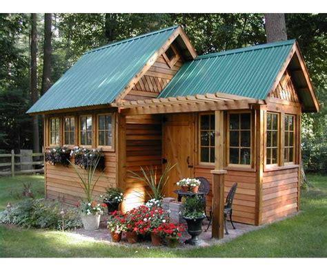 design ideas  home potting shed designer mag