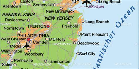 usa map philadelphia map of philadelphia region in united states usa welt