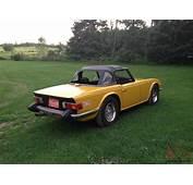 TRIUMPH TR6 1976 Inca Yellow