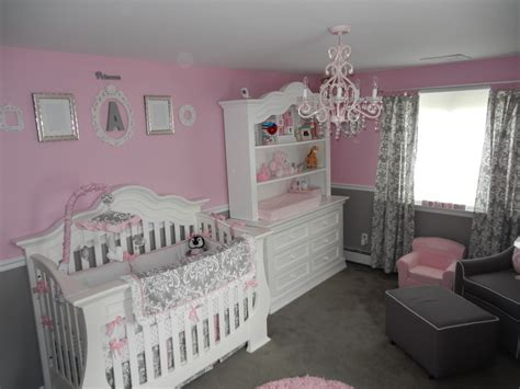 baby girl bedrooms pink and grey nursery baby girl 39 s room baby room baby