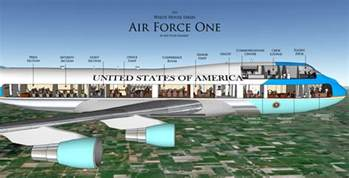 Air Force One Layout by A Good Life Executive Visit