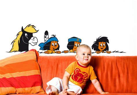 Wandtattoo Kinderzimmer Yakari by Wandtattoo Yakari Und Freunde Wandbild F 252 R Kinderzimmer