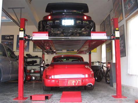 garage forum about 4 post lifts for home garage rennlist porsche