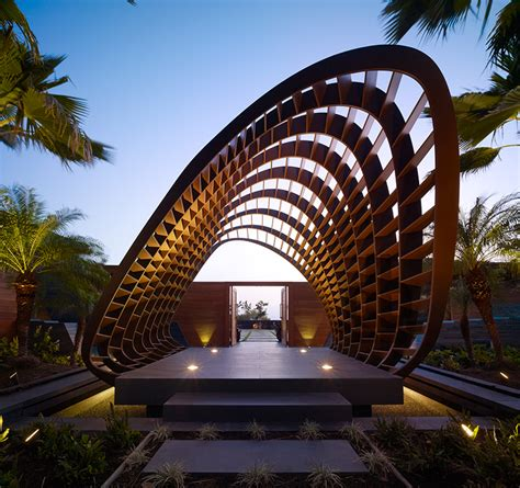 belzberg architects belzberg architects project the kona residence on cooled lava flows of hawaii