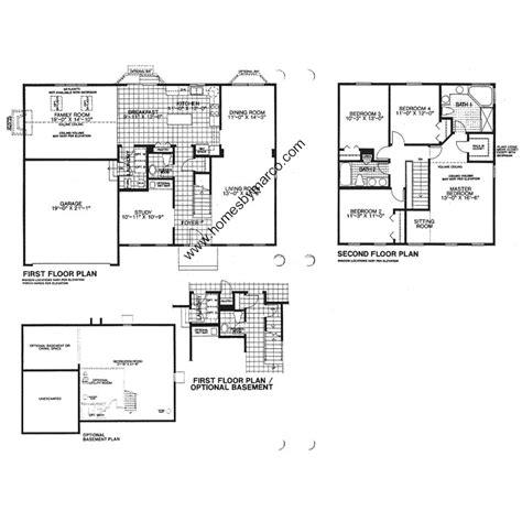 sheffield floor plan sheffield model in the college trail subdivision in