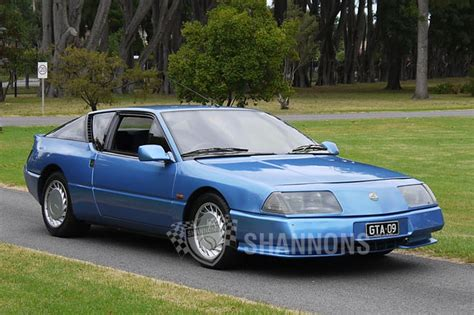 renault alpine gta renault alpine gta v6 coupe auctions lot 11 shannons