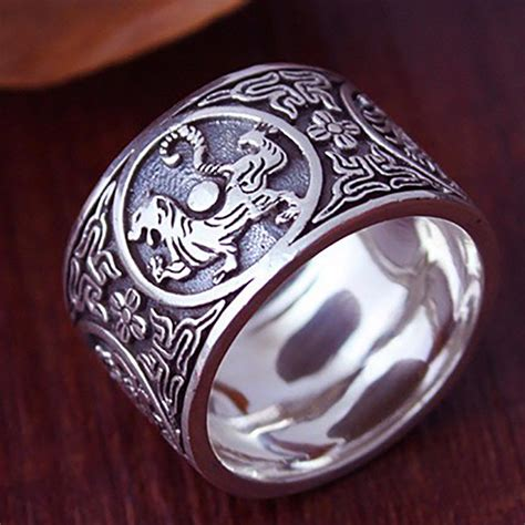 sterling silver 925 ring vintage rings 4 creatures