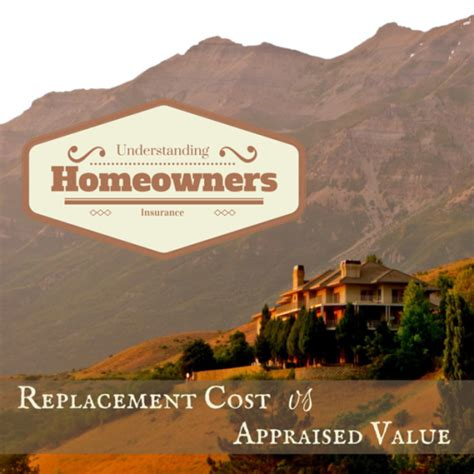 replacement cost vs appraised value shine insurance agency
