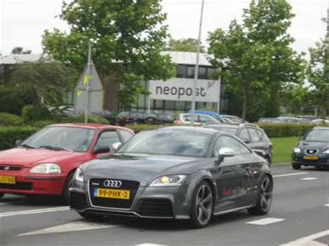 Audi Tt 0 100 by Audi Tt Rs 0 100 Km P 0 60 Mp H Launch Loud