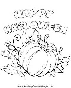some free halloween coloring pages fantasy coloring pages