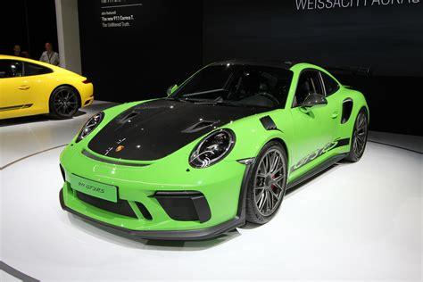 Porsche Gt 3 Rs by Porsche 2019 911 Gt3 Rs Weissach New York International