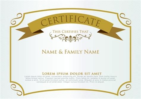 design certificate using corel draw certificate design templates corel draw free