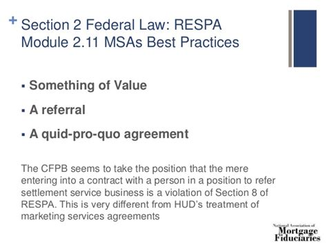 Section 9 Of Respa by 8 Hour Safe Loan Originator Continuing Ed 2016
