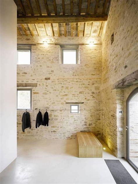 house renovation in treia italy by wespi de meuron architects